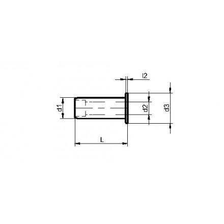 Kelch reducerhylsa för hydraulchuck standard