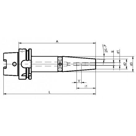 Kelch krympchuck standard HSK-A