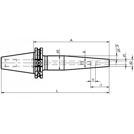 Kelch krympchuck slank ISO-DIN