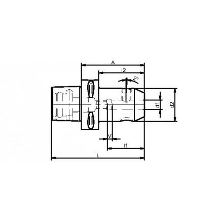 Kelch weldon-chuck standard PSK Capto