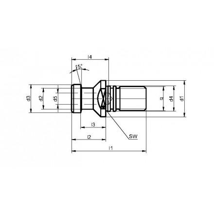 Kelch dragtapp DIN 69872 B standard