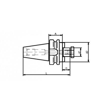 Kelch fräsdorn stor anläggningsplan standard BT-MAS