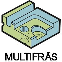 Multifräs