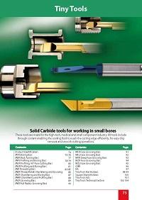 Solida HM verktyg små dimensioner